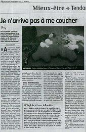 Article La Montagne sommeil sophrologie