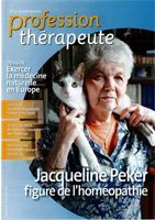 couverture article Profession Therapeute