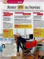 article sophrologie Rester zen au boulot Télé 7 Jours