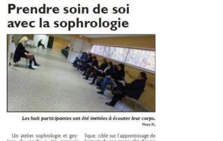 atelier de sophrologie gestion du poids - novembre 2012