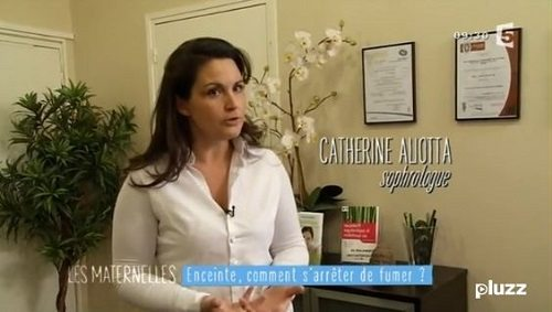 catherine aliotta les maternelles femme enceinte tabac
