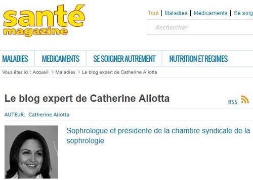 blog expert catherine aliotta sante magazine