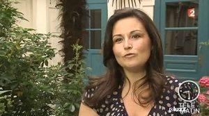 Catherine Aliotta dans un reportage de Télématin
