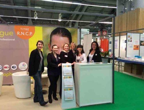 Le stand de l'IFS au salon du bien-être en images de Paris