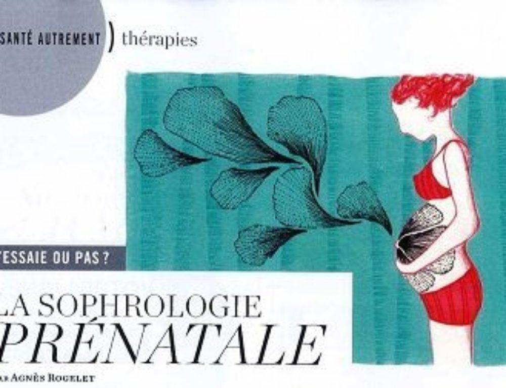 Un article sur sophrologie prénatale dans Psychologies Magazine