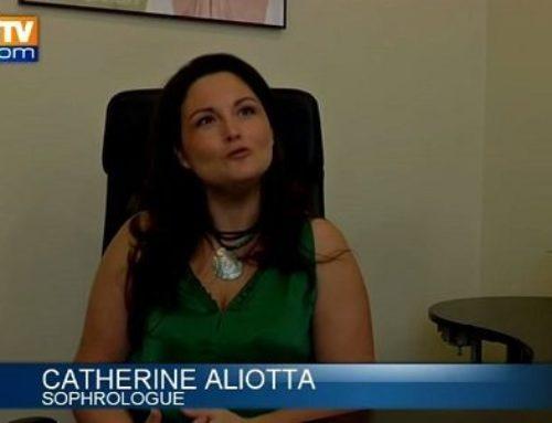 Un reportage sur le mal des transport sur BFMTV avec Catherine Aliotta