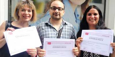 De nouveaux sophrologues certifiés