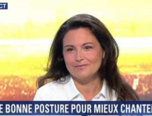 Catherine Aliotta parle de sophrologie sur BFM TV
