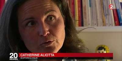 Catherine aliotta ua journal télévisé de 20h sur France 2