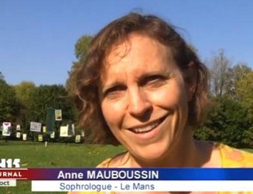 Reportage : une sophrologue de l'IFS sur Ouest France